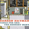 Darren Hayman - Table For One: The Dessert Menu