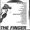 The Finger - We Are Fuck You / Punk's Dead Let's Fuck